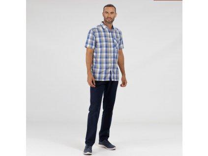 Pánska košeľa REGATTA RMS111-015 modrá