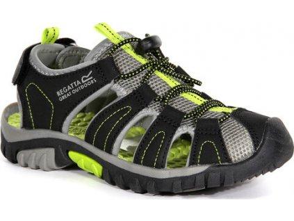 Detské sandále REGATTA RKF600 Westshore Jnr Čierne