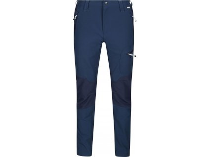 Pánské softshellové kalhoty Regatta Questra II MT8 tmavě modré