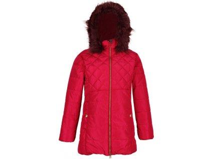 Detská zimná bunda Regatta RKN093 Bernadine Červená