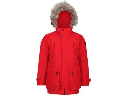 Detská zimná bunda Regatta RKP213 Pazel Červená