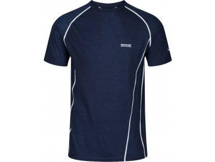 Pánské sportovní tričko Regatta Tornell II 3T6 tmavě modré