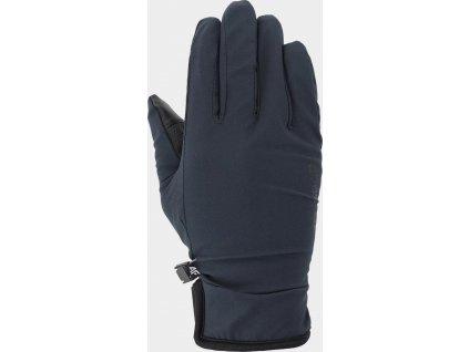 Unisex rukavice 4F REU100 Tmavomodré