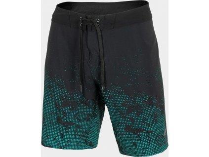 Pánske plážové šortky 4F SKMT205 Zelené morská