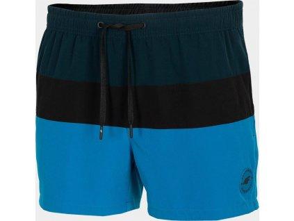Pánske plážové šortky 4F SKMT201 Modré