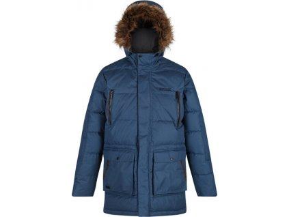 Pánska zimná bunda Regatta RMN130 Angaros II Modrá