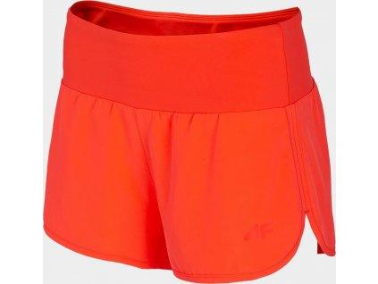 Dámske funkčné nohavice 4F SKDF250A Oranžové