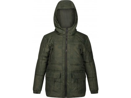 Detská zimná bunda Regatta RKN094 Perico Khaki