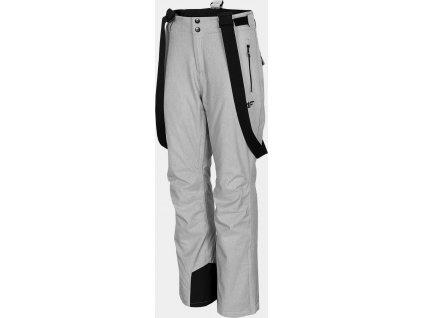 Dámske lyžiarske nohavice 4F SPDN301 Svetlosivé