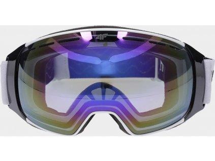 Dámske lyžiarske okuliare 4F GGD252 Biele