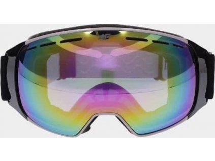 Dámske lyžiarske okuliare 4F GGD252 Čierne