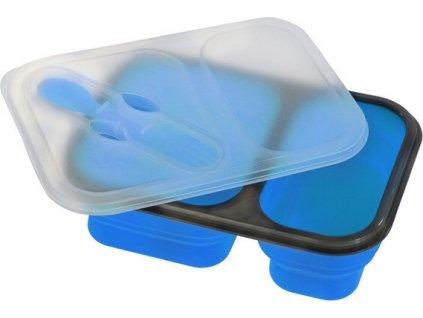 Silikónová prepravné dóza na jedlo Regatta RCE234 Silicon Mess Tin Modrá