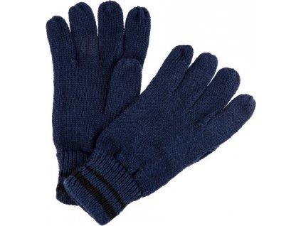 Pánske rukavice Regatta RMG028 Balton Glove II Tmavomodré
