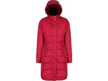 Dámsky kabát Regatta RWN123 FERMINA II 07T Červený