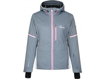 Dámska lyžiarska bunda Dare2B Opulence Jacket 4NC Sivá(