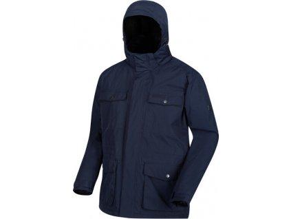 Pánska zateplená bunda Regatta RMP264 phyllon 540 Tmavo modrá