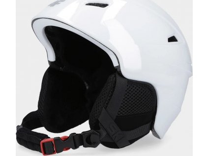 Dámska lyžiarska prilba 4F KSD350 Biela