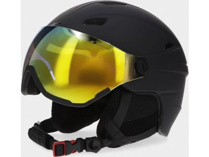 Pánska lyžiarska prilba 4F KSM151 Čierna