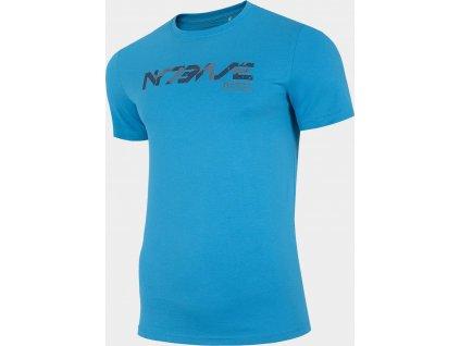 Pánske tričko 4F D4Z20-TSM229 Modré