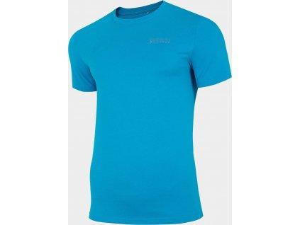 Pánske tričko 4F D4Z20-TSM231 Modré