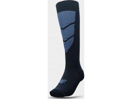 Pánske lyžiarske ponožky 4F SOMN300 Tmavomodré