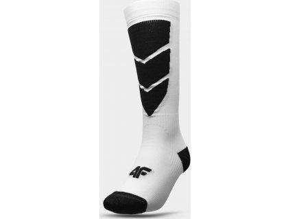 Dámske lyžiarske ponožky 4F SODN300 Biele