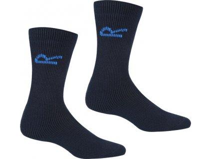 Pánske termo ponožky 5 párov RMH037 tmavo modré