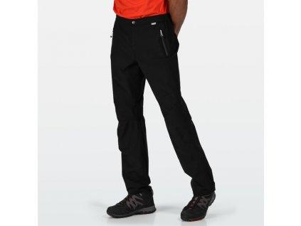 Pánské outdoorové kalhoty 4F Highton Strch Trs 800 černé 07