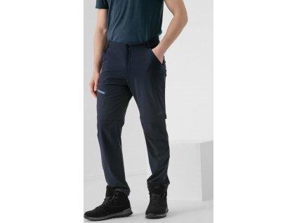 Pánske outdoorové nohavice 4F SPMTR061 Tmavomodré