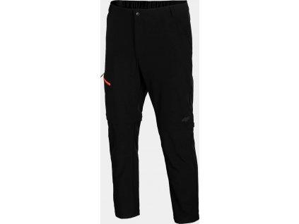 Pánske outdoorové nohavice 4F SPMTR061 čierne