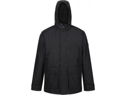 Pánska zimná bunda Regatta RMP288 Sterlings II 800 čierna