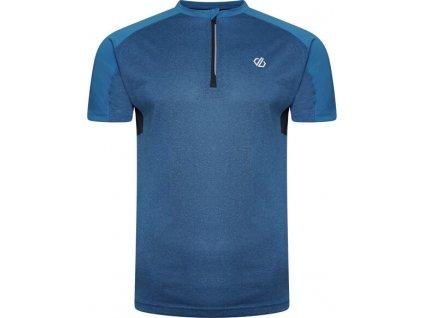 Pánske technické tričko Dare2B DMT556 Aces II Jersey 7C7 modrý