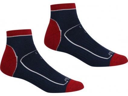 Pánske ponožky Regatta RMH044 Samaris TrailSock FY7 modré