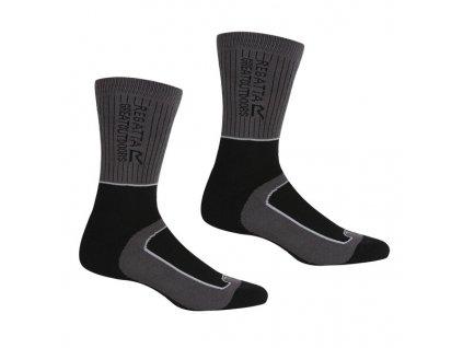 Dámské ponožky Regatta RWH046 LdySamaris2Season H8S šedé