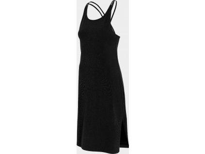 Dámske šaty 4F SUDD013 čierne