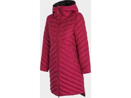 Dámsky kabát 4F KUDP214 Burgund