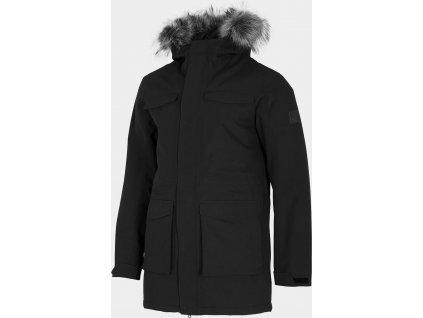 Pánska bunda 4F KUM201 čierna