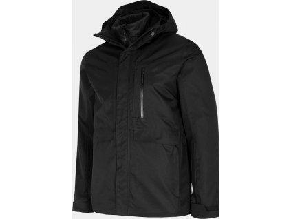 Pánska bunda 3V1 4F KUMT200 čierna