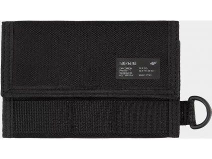 Peňaženka 4F PRT001 čierna