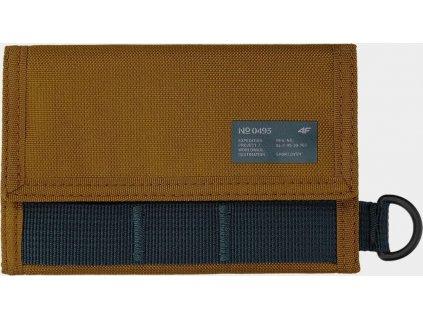 Peňaženka 4F PRT001 hnedá