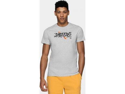 Pánske tričko 4F TSM235 sivé