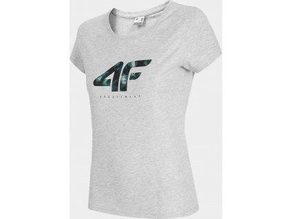Dámske tričko 4F TSD030 sivé