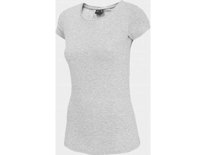 Dámske tričko 4F TSD001 sivé