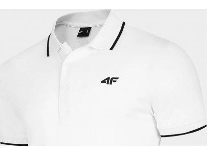 Pánske polo tričko 4F TSM009 biele