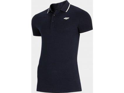 Pánske polo tričko 4F TSM009 tmavo modré