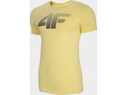 Pánske tričko 4F TSM302 žlté