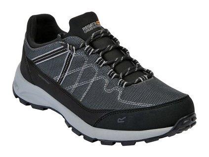 Pánska treková obuv Regatta RMF693 Samaris Lite Low čierne
