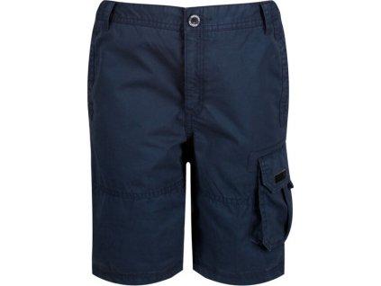 Detské šortky Regatta RKJ095 Shorewalk tmavo modré