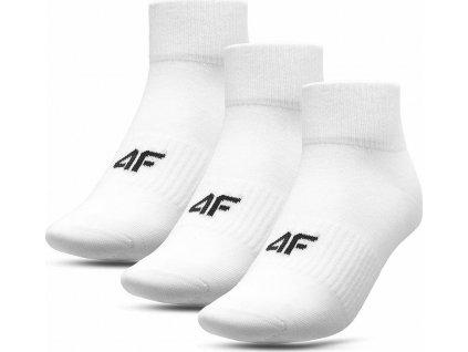 Pánske ponožky 4F SOM007 biele