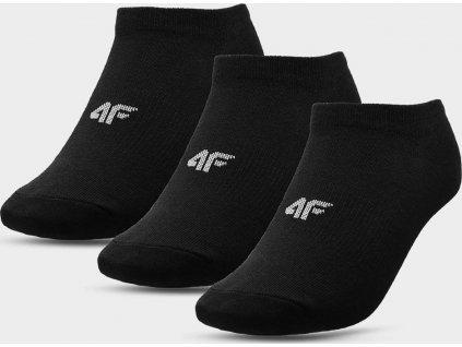 Chlapčenské ponožky 4F JSOM001 čierne